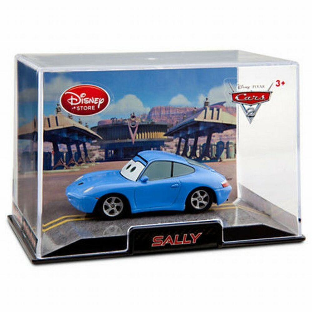 Disney Store Cars 2 Die Cast Collector Case Sally 1:43
