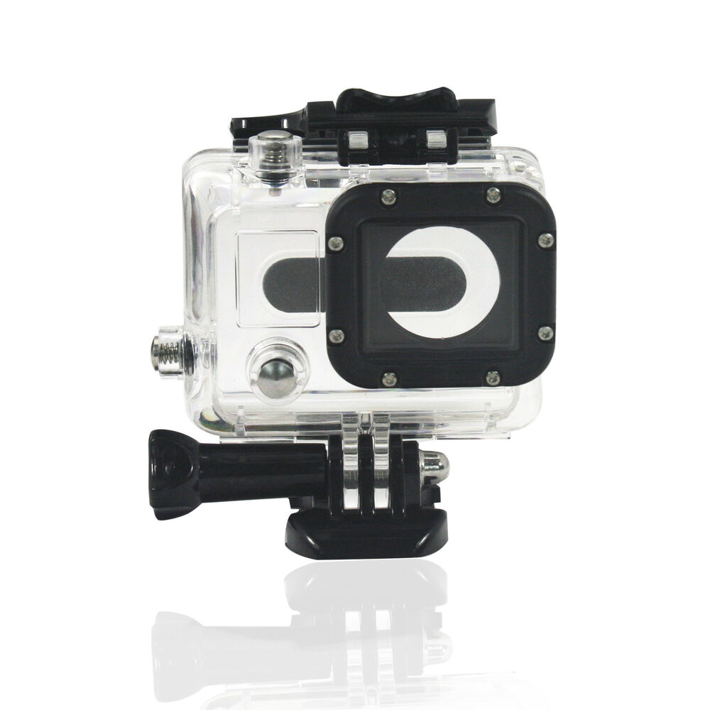 waterproof case gopro3 housing with lens for gopro hero 3. Black Bedroom Furniture Sets. Home Design Ideas