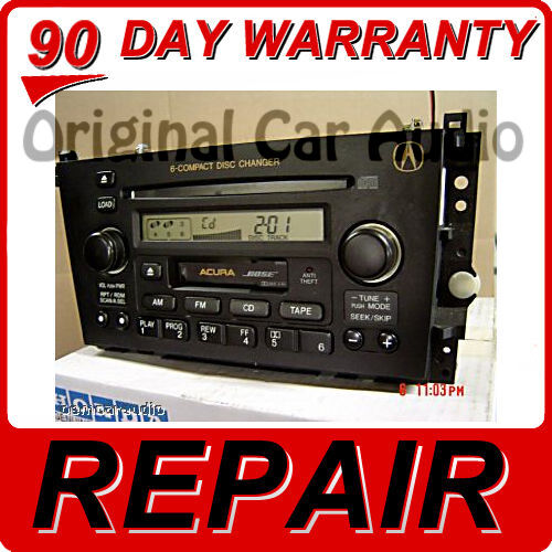 REPAIR ONLY Acura TL CL Radio Stereo 6 Disc Changer CD