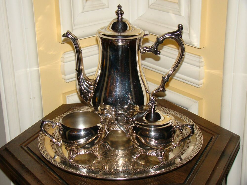 silver coffee pot how to use