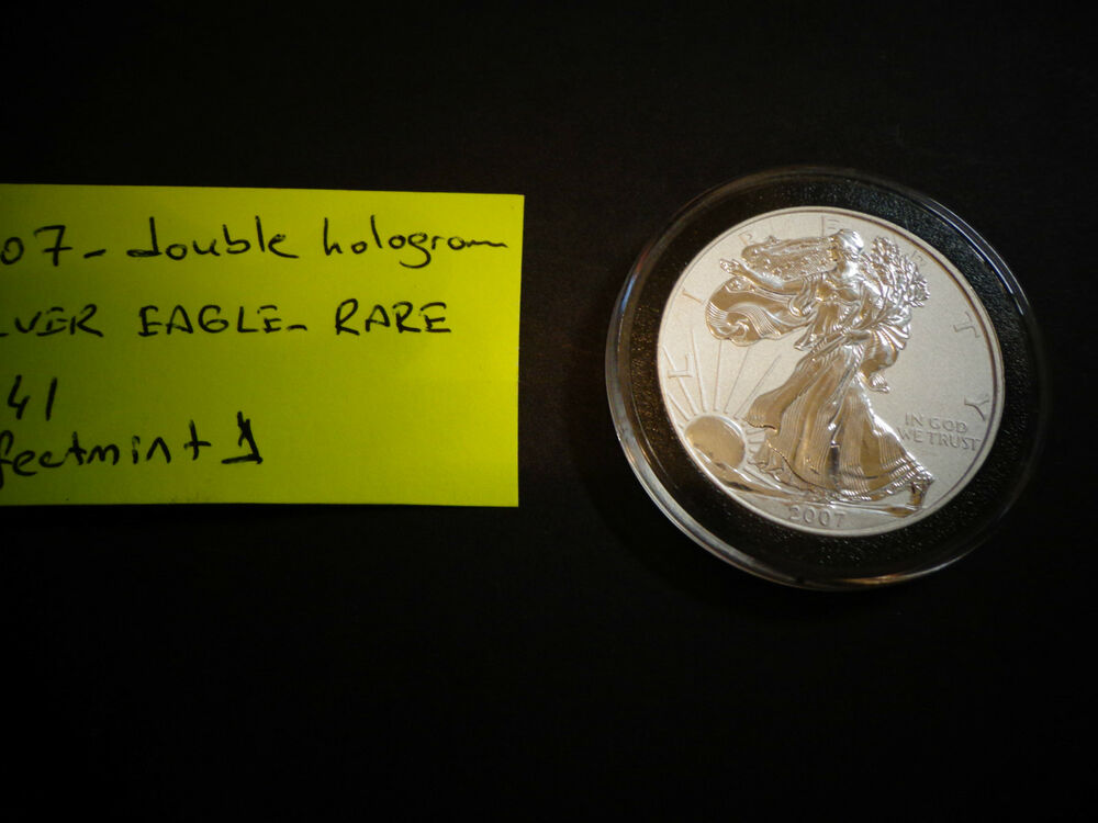 2007 Hologram Edition American Silver Eagle 1 Troy Oz 1