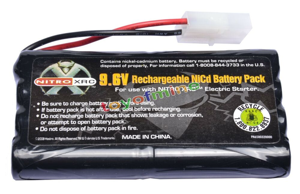 1x Ni Cd 9 6v 2400mah Rechargeable Battery Pack Tamiya