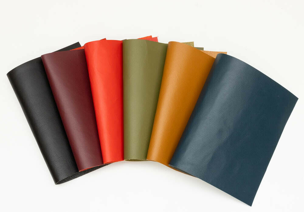 Veg tan leather pieces of sheepskin craft pack 6 20cm x for Leather sheets for crafting