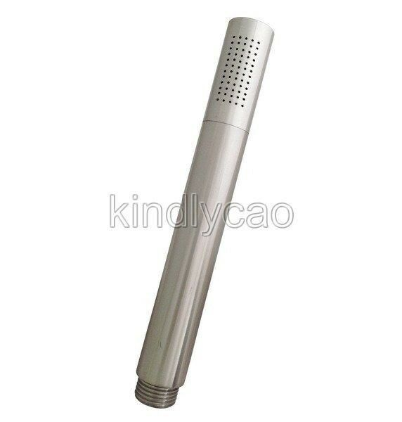 Oxygenics Rush Rain Shower Head In Brushed Nickel Bed Shop