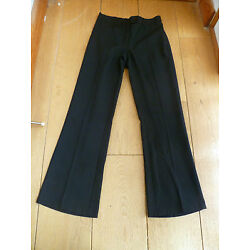 MARKS & SPENCER NAVY BLUE OR BLACK BOOTLEG BOOTCUT SCHOOL TROUSERS 45678101116