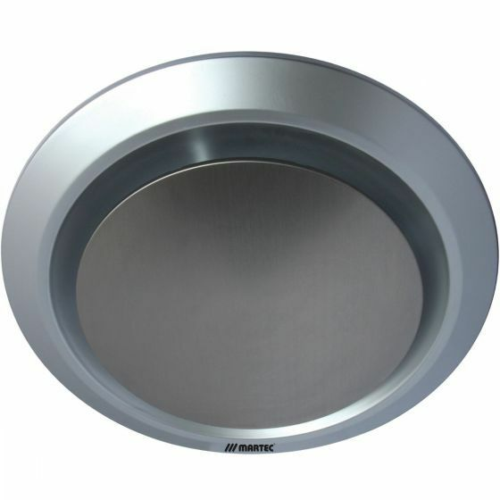 Martec Gyro Round Ceiling Exhaust Fan Kitchen Bathroom Silver Mxfg25s Ebay