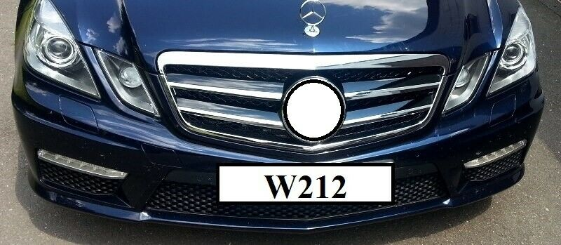 k hlergrill inkl stern amg look f r mercedes w212 ebay. Black Bedroom Furniture Sets. Home Design Ideas
