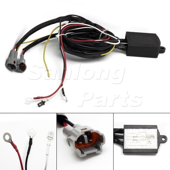 drl led daytime running light relay harness automatic on 2 Prong LED Switch Wiring Computer Switch Wiring