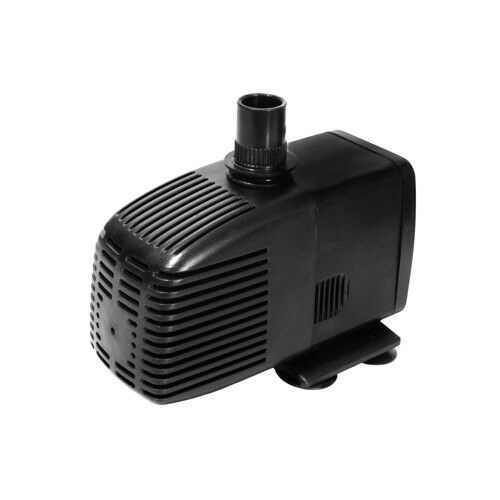 790gph submersibsle koi fish pond fountain pump w pre for Outdoor fish pond filters and pumps