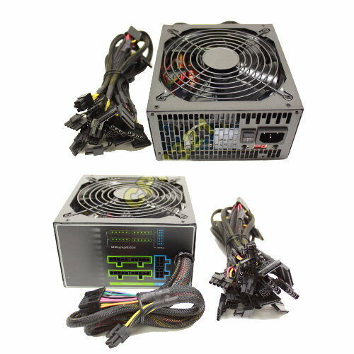 875w Modular Atx Power Supply Silent 12cm Fan 800w 850w Ebay