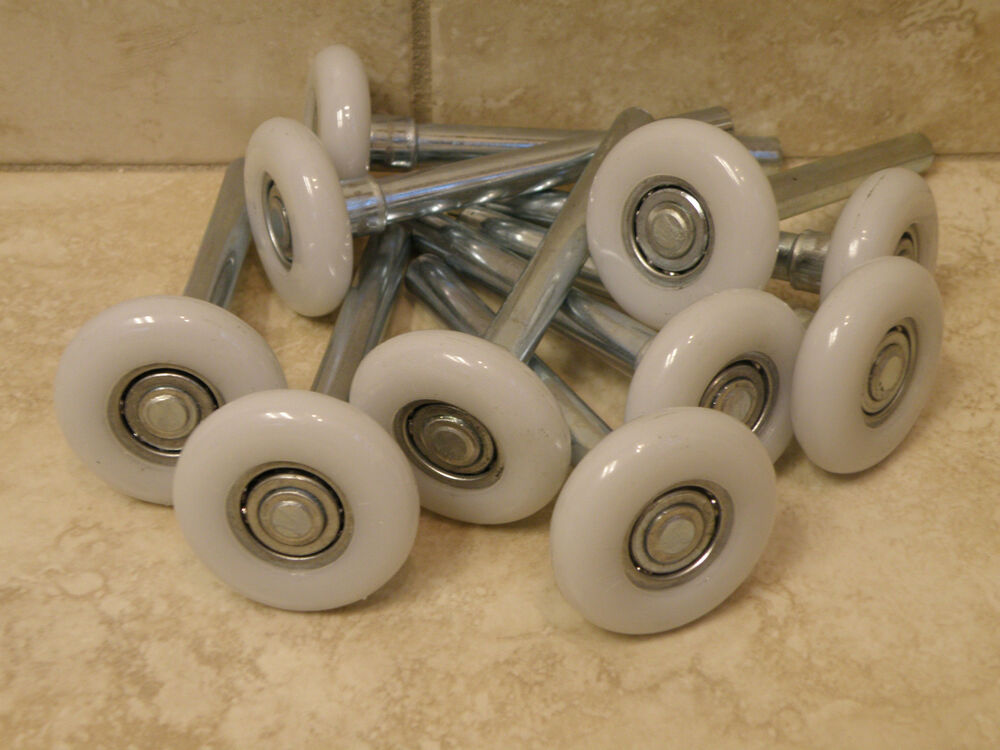 Premium Garage Door Rollers Wheels White Nylon Ball