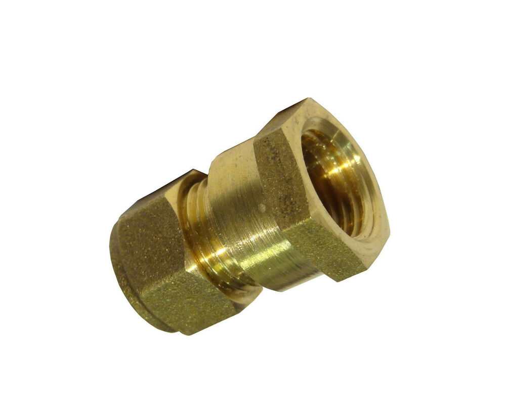 Mm compression inch bsp female adaptor coupler