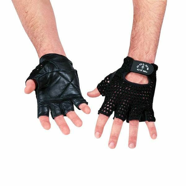 Mesh Weight Lifting Gloves: Golds Gym Mesh Back Leather Weight Lifting Body Building