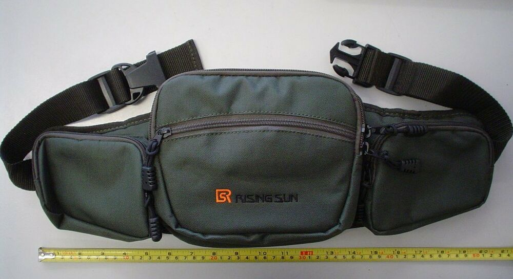 Brand new lure fishing tackle waist bag for tackle box for Fishing waist pack