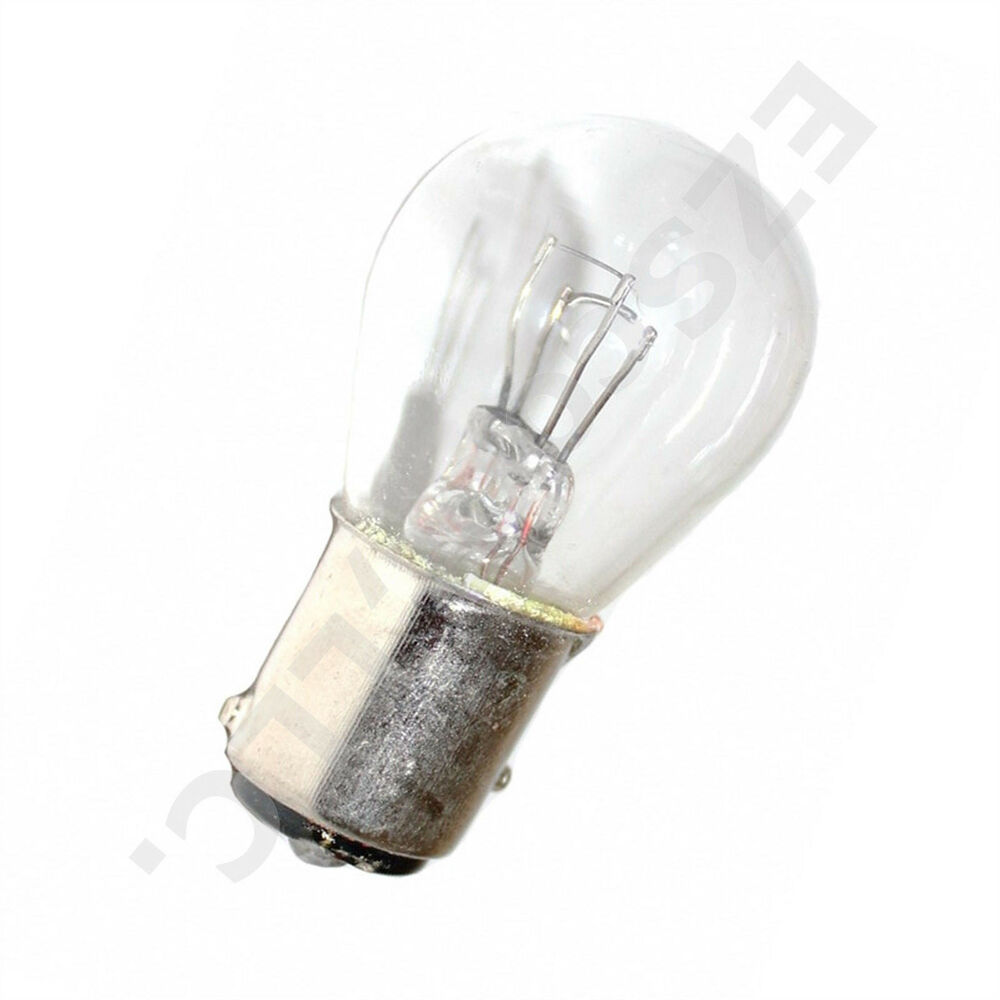 2x tail brake light bulb oem 12v 21 5w gy6 scooter moped. Black Bedroom Furniture Sets. Home Design Ideas