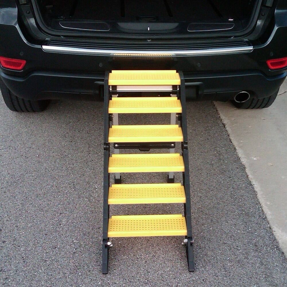 WAG Dog Boarding Steps for Vehicles/Home Use (vs. Ladders ...