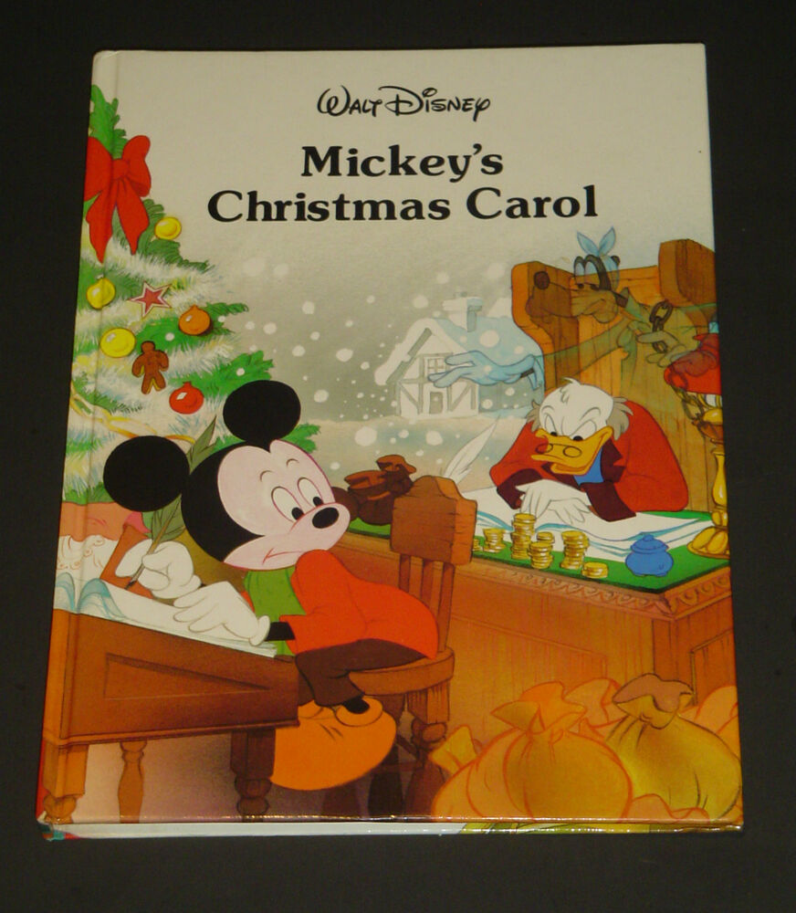 Mickey's Christmas Carol Walt Disney Classic Series Gallery Books 1988 ...
