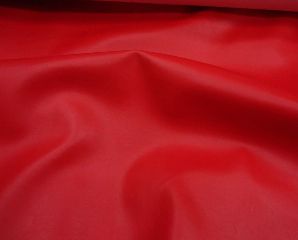 marine faux vinyl leather red upholstery auto boat vinyl fabric yard 54 wide ebay. Black Bedroom Furniture Sets. Home Design Ideas