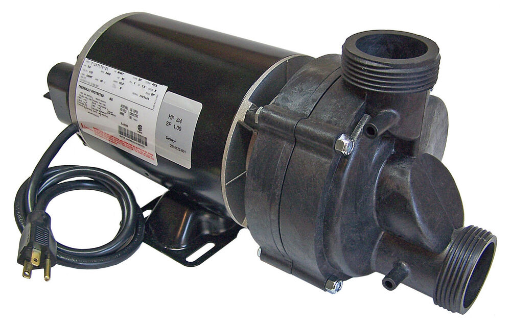 Bathtub Pump 3 4 Hp With Air Switch And Cord 115volts