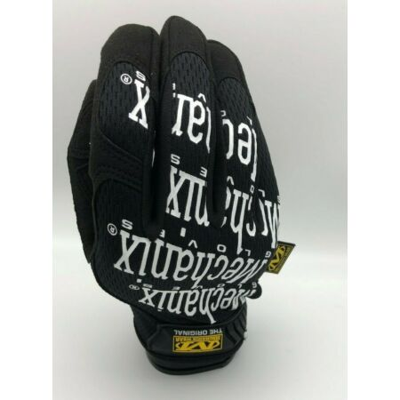 img-Genuine Mechanix Original Gloves in Black/White all sizes Mechanics Tactical