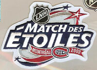 2009 ALL STAR GAME MONTREAL CANADIENS OFFICIAL NHL HOCKEY PATCH FRENCH VERSION