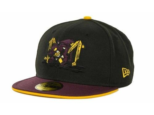 new era 59fifty batavia muckdogs fitted minor league