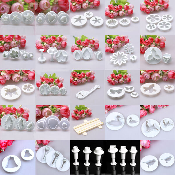 0.99 Sales!! Fondant Icing Cake Decorating Cupcake ...