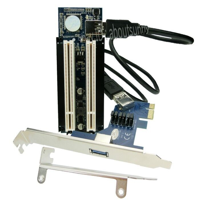 M 2 Pcie Adapter Pakistan Adapter Nikon To Sony E Mount Wifi Adapter Gone From Laptop Adapter Adapter Meaning: PCI-E To 2 PCI Adapter PCIe Convert PCI Card Support PCI