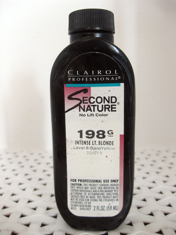 Clairol Second Nature No Lift Permanent Hair Color Series 100 Your