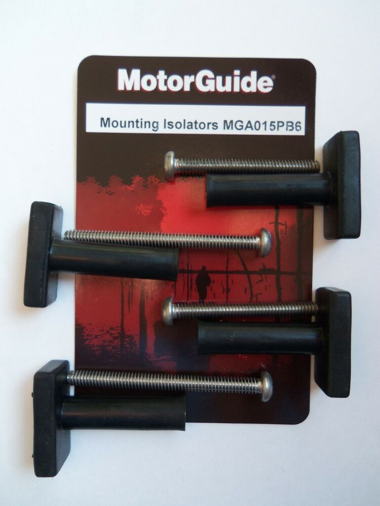 Trolling motor mounting bolts isolators by motorguide for Trolling motor repair near me