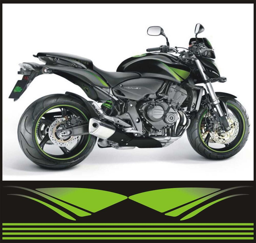 kit honda hornet 600 2008 2011 adesivi adhesives stickers decal ebay. Black Bedroom Furniture Sets. Home Design Ideas
