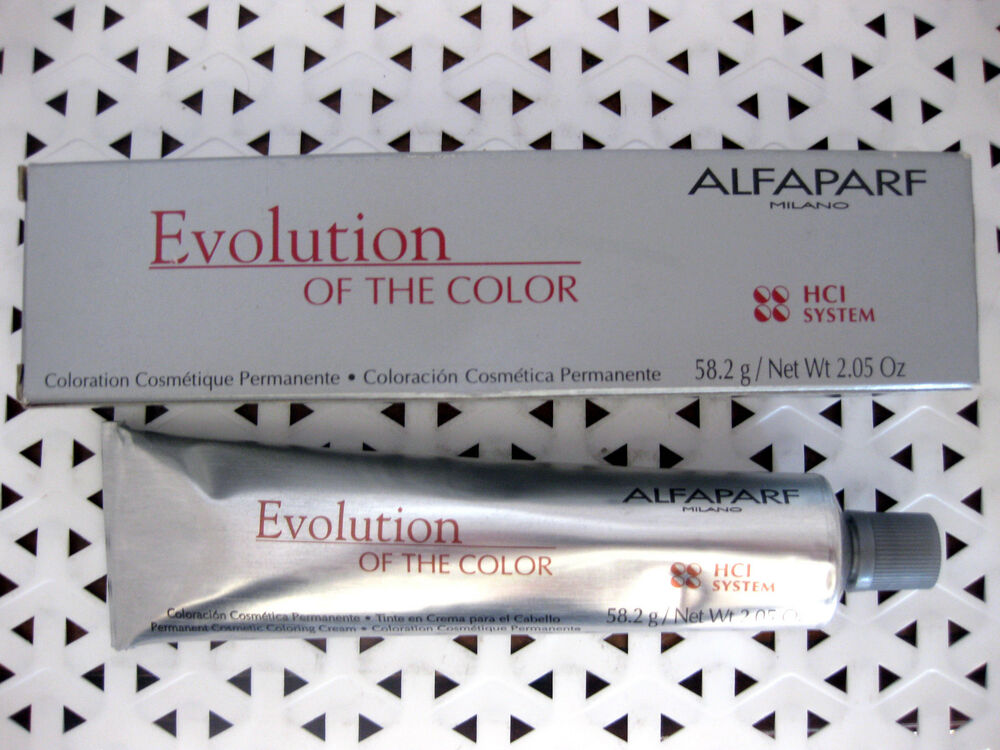 Alfaparf Evolution Of The Color Permanent Hair Color U Pick High S