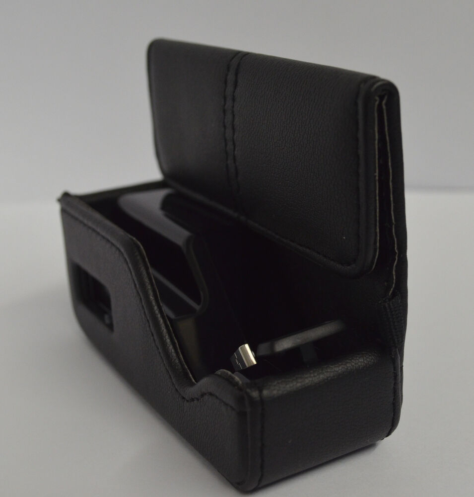 Oem Charging Leather Case Charger Pouch For Plantronics 975 Bluetooth Ebay
