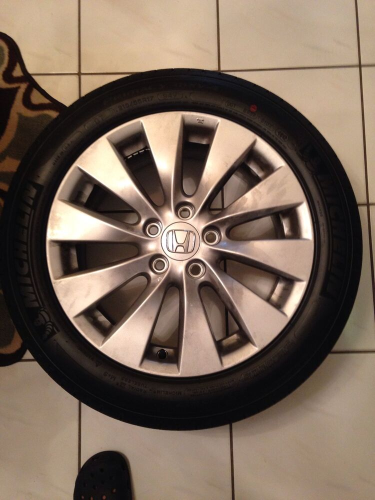 4 Factory 2014 Honda Accord Wheels And Tires Ebay