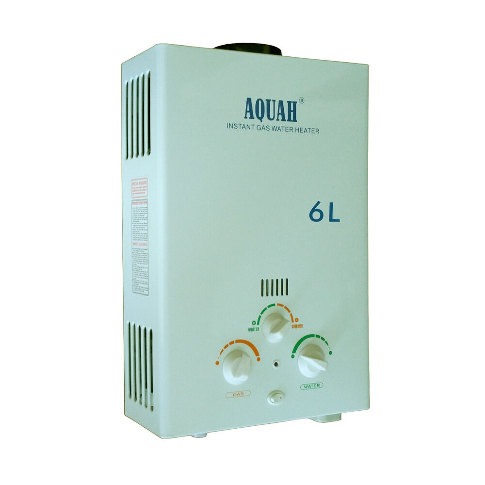 Aquah Indoor Liquid Propane Gas Tankless Water Heater Up