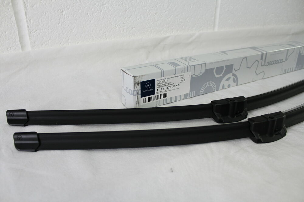 New genuine mercedes benz sl e class cls front wiper for Mercedes benz c300 wiper blades
