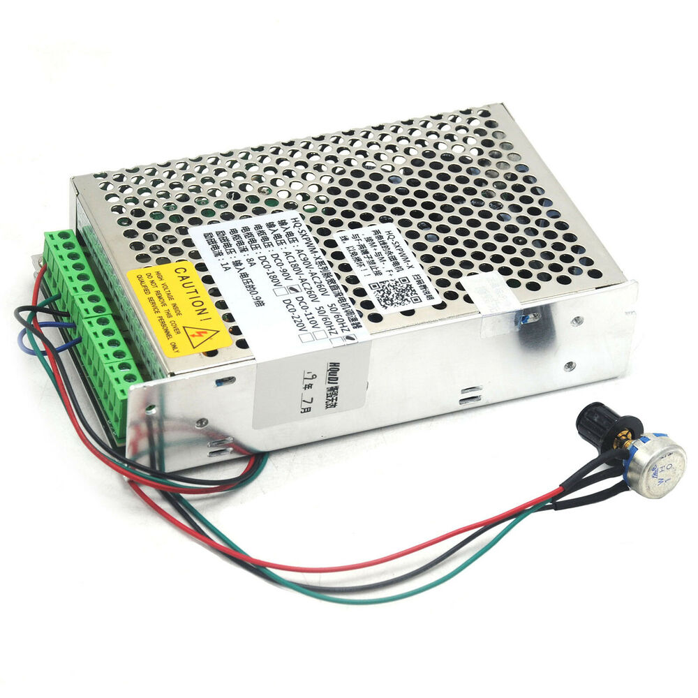 Ac90v 260v input dc110v output 8a pwm dc motor speed for Motor with speed control