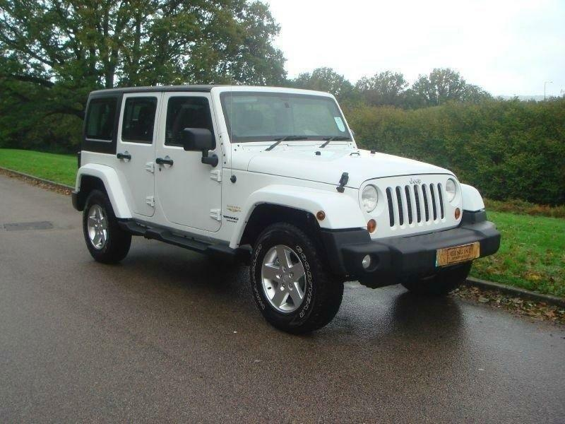 jeep wrangler 2 8 crd sahara 4 door unlimited 4x4 diesel automatic 2014 14 ebay. Black Bedroom Furniture Sets. Home Design Ideas