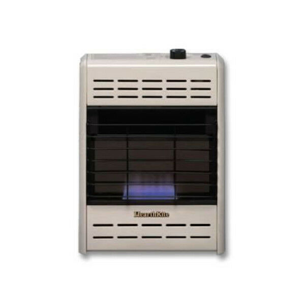 Hearthrite Vent Free Blue Flame Nat Gas Thermo Wall Heater