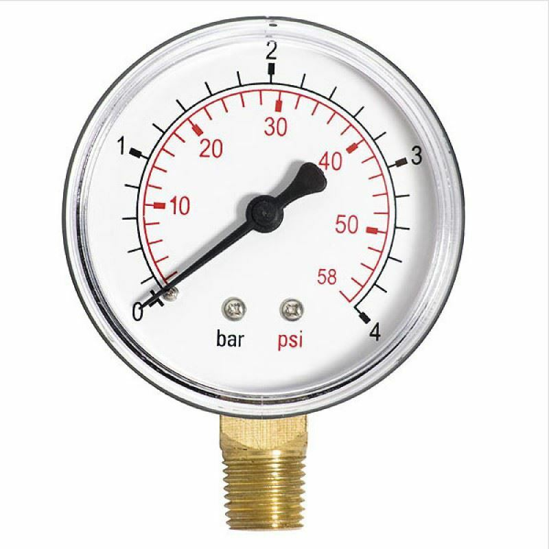 what is 1 bar pressure