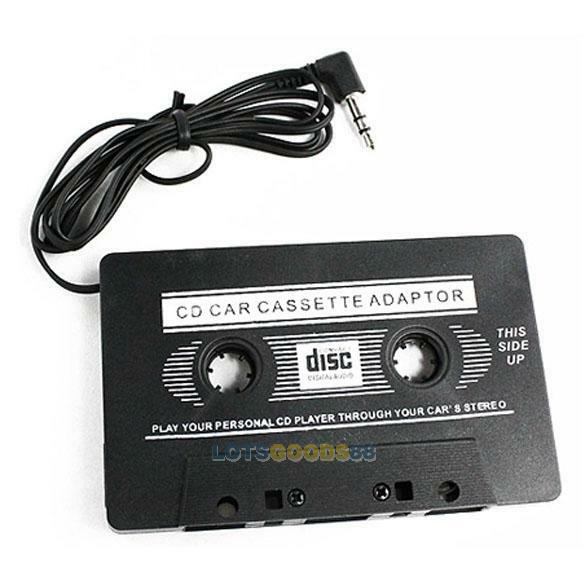 Auxiliary cord for tape player