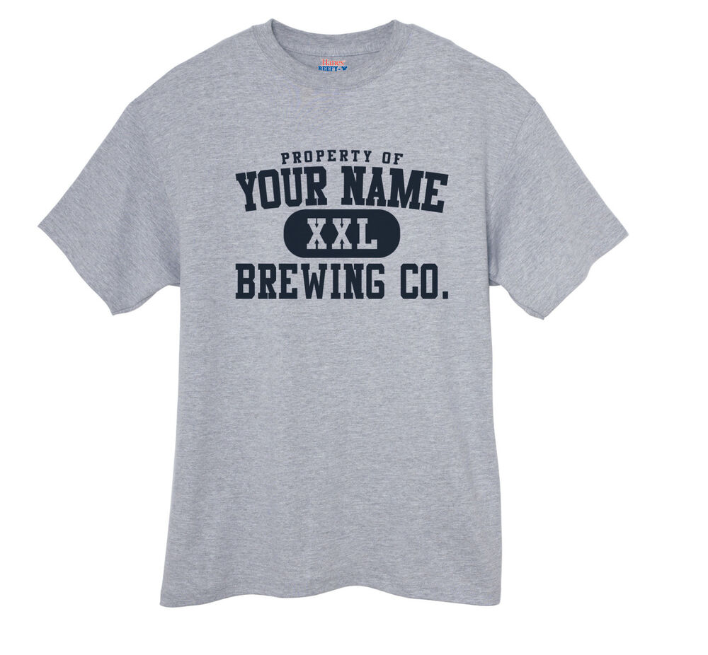 Custom Homebrew Beer Brewing Company Home Brew T Shirt Ebay