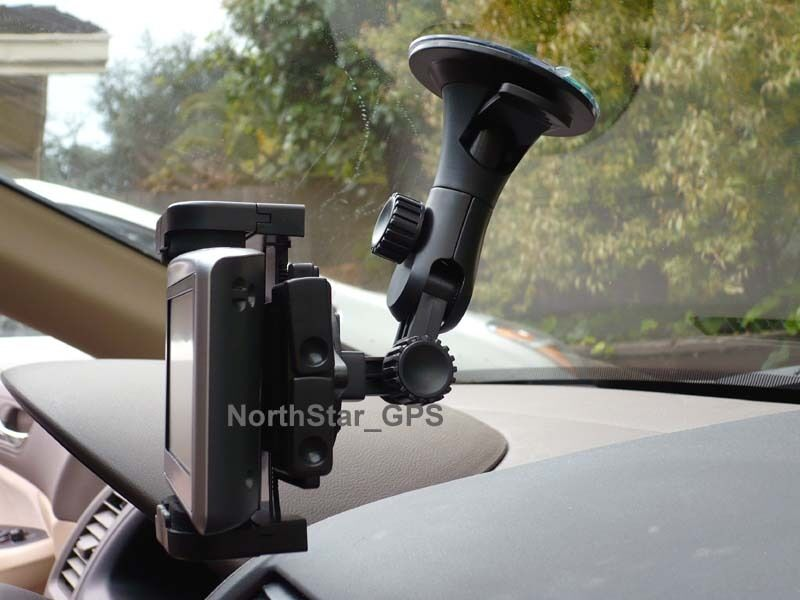 Gps Car Mount: CAR WINDSHIELD/WINDOW SUCTION CUP MOUNT HOLDER FOR