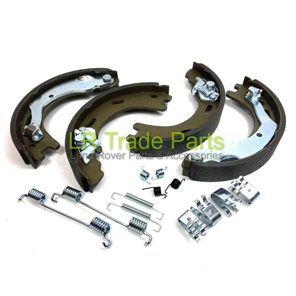 land rover discovery 3 4 oem rear handbrake shoe set. Black Bedroom Furniture Sets. Home Design Ideas
