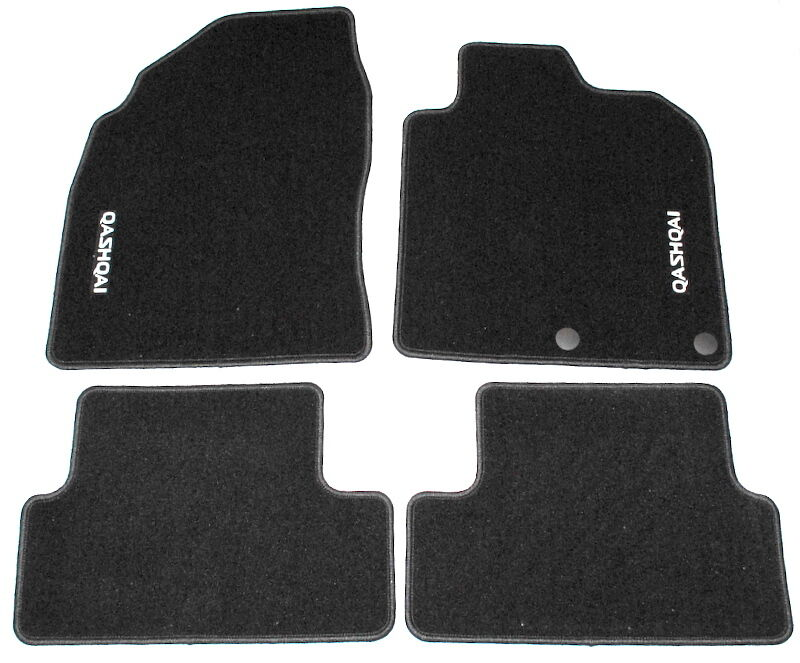 Nissan Qashqai Luxury Velour Floor Mats Genuine New
