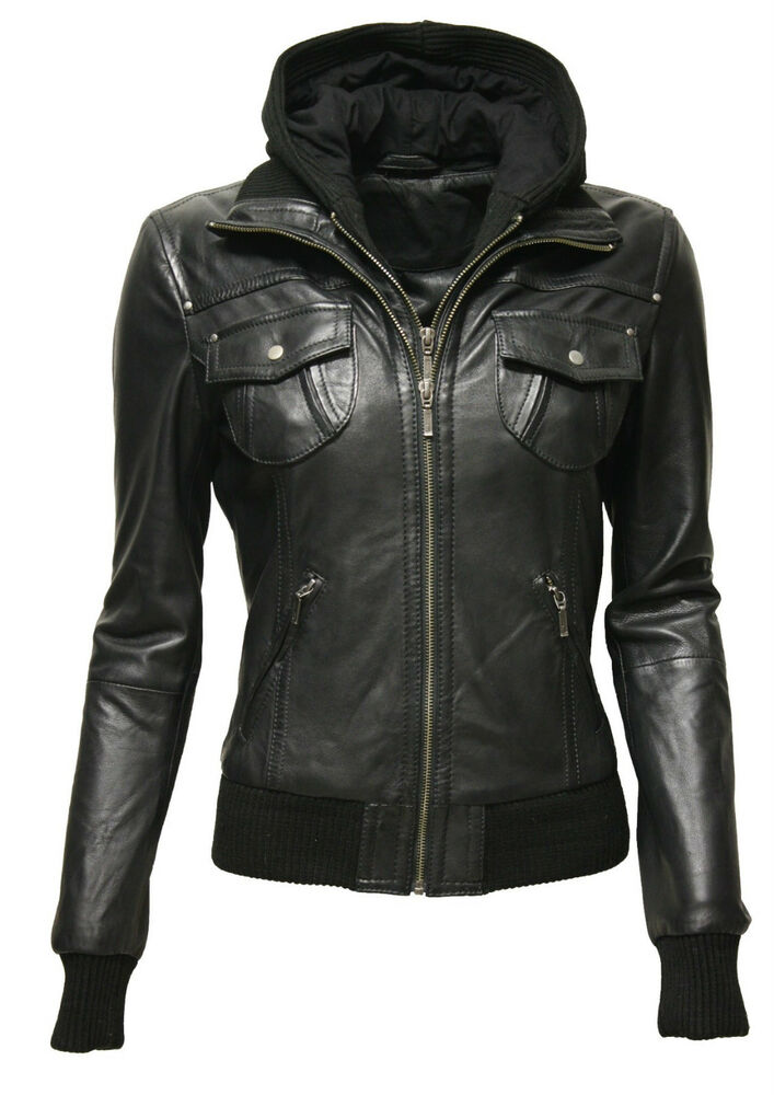 damen lederjacke blouson lammnappa feinstes echt leder. Black Bedroom Furniture Sets. Home Design Ideas