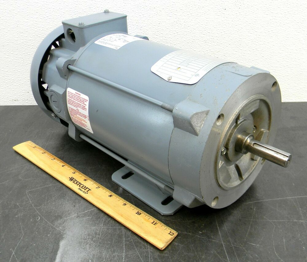Emerson 611925 1 hp 1750 rpm electric motor 180 volt vdc for 3 4 hp electric motor