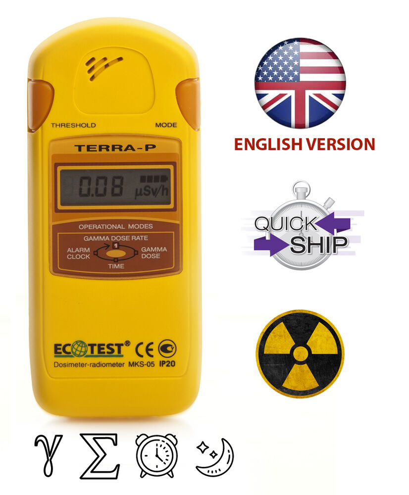 how to read a geiger counter