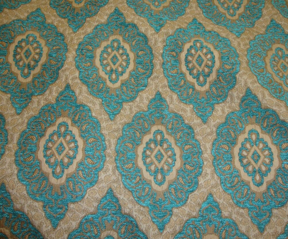 Chenille marina oval chenille upholstery drapery fabric by for Upholstery fabric