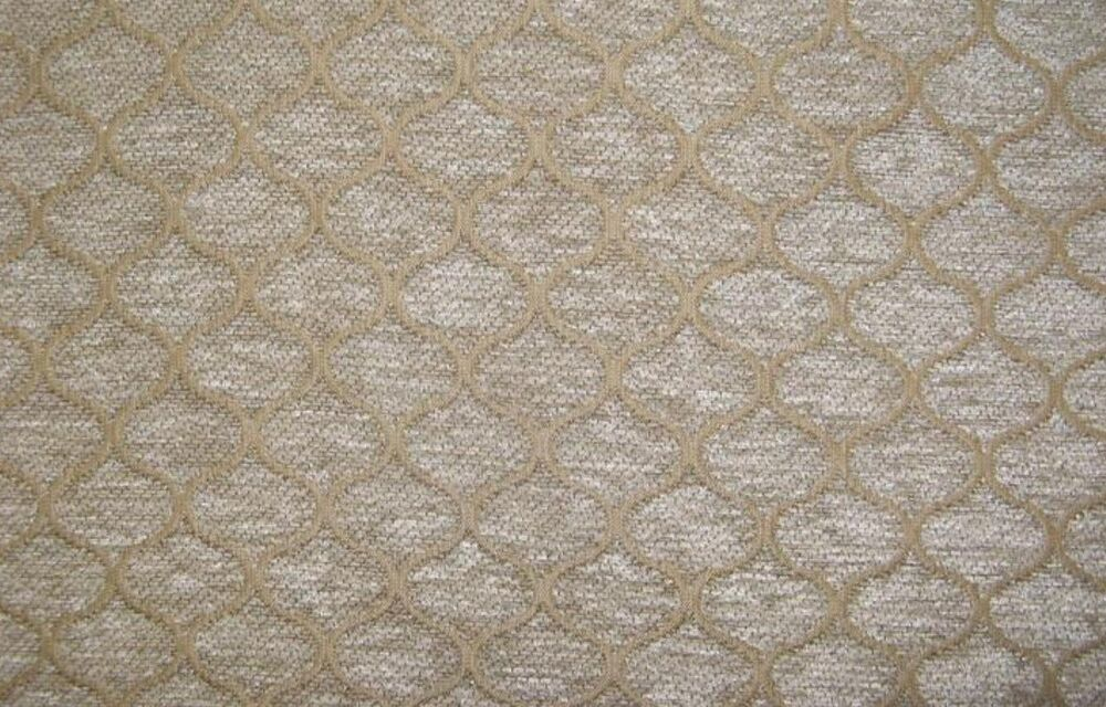 Upholstery chenille 57 wide natural sarah drapery fabric for Purchase fabric by the yard